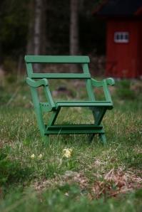 Ny färg på trädgårdsmöblerna
