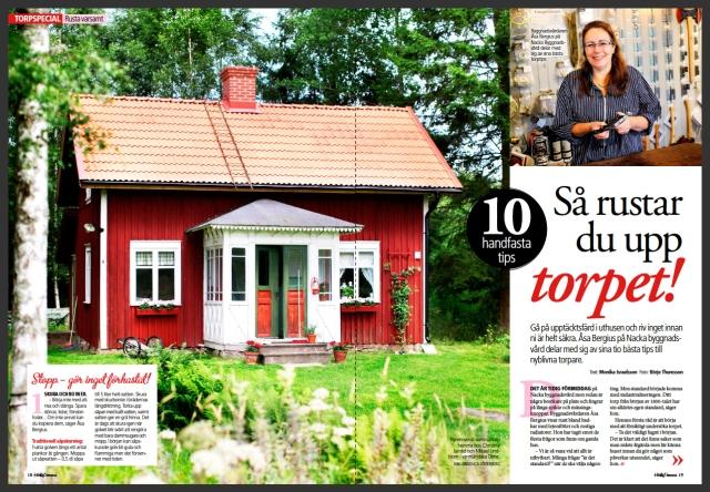 Det här huset känns bekant även om dörrarna nuförtiden är enfärgade och farstun är både ommålad och har nytt tak.