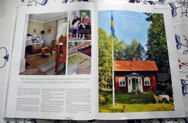 Nr 6 av Gård & Torp finns i butik nu. Vi har prenumererat sedan vi köpte huset 2009. G&T har blivit vårt husorgan.