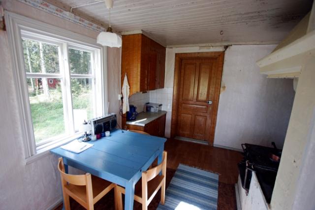 Köket som det såg ut när vi köpte det 2009.